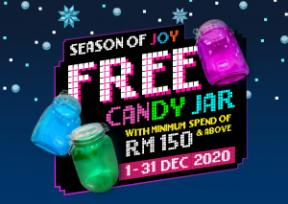 KM Christmas Gift With Purchase 2020 - Exclusive Candy Jar