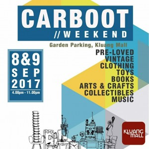 Carboot Weekend 2017
